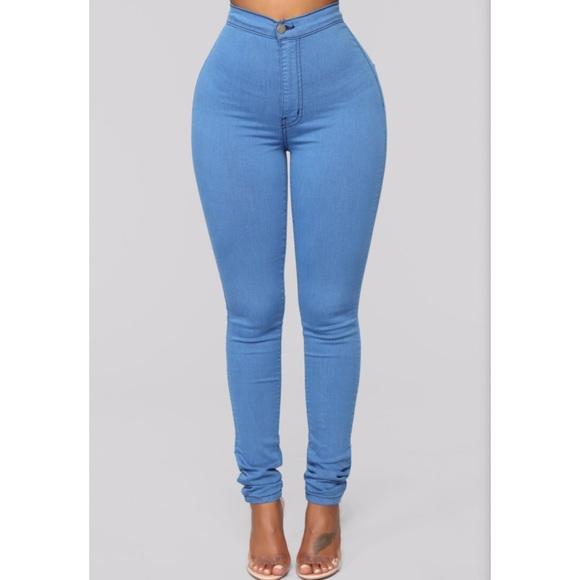 c34b60026a Fashion Nova Jeans | Womens Blue Skinny Size 7 | Poshmark